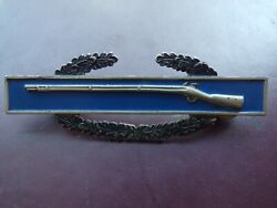 Wwii Combat Infantry Badge Sterling Silver Army Cib Uniform Insignia Rifle Pin