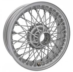 4 15 X 5 Mg British Sport 60 Spoke Classic Wire Wheels   Made In England