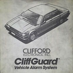 Clifford Cliffguard Vehicle Alarm System Brand New
