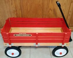Radio Flyer 24 Town And Country Wagon - 1980's Vintage