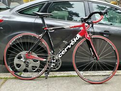 Cervelo S1 56cm Road Bicycle Sram Force Groupset Easton Wheels T3 Cockpit