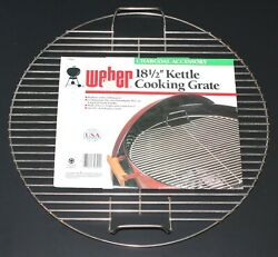 1990s Weber Bbq 7060 Plated Cooking Grate Fits Round 18.5 Grill 17.5 Dia Nos