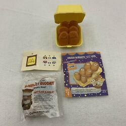 1988 Mcdonalds Happy Meal Chicken Mcnugget Buddies And 1st Class Mcnugget