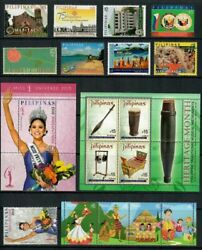 Rp16 Philippines - 2016 Complete Year Stamp Sets With Souvenir Sheets. Muh