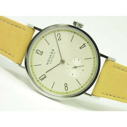 Free Shipping Pre-owned Nomos Tangent Four Season Spring Japan Limited Tn35haru
