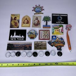 Lot Of 50 Miscellaneous Refrigerator Magnets