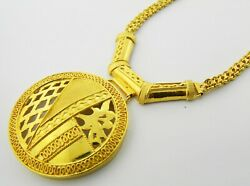 22ct Gold Chain With Pendant.