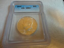 1965 Icg Ms 67 Kennedy Half Dollar Lists 2750.00 Rare In This Grade