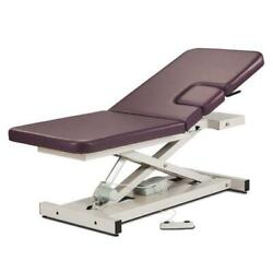 Clinton Open Base Power Imaging Table With Window Drop And Adjustable Backrest