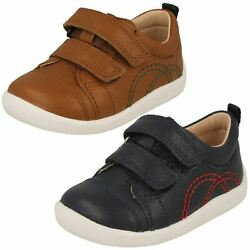 Boys Startrite Smart/casual Hook And Loop Fastening Shoes Tree House
