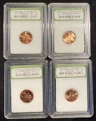 Lot Of 2009-p Lincoln Bicentennial Cents - 4 Coins Commemorative Issue