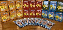 2021 Topps Garbage Pail Kids Food Fight Tins Fat Packs-check Out Possible Hits