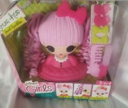 Doll Lalaloopsy Girls Jewel Sparkles Styling Head 3-in-1 Style Accessorize Toy☆