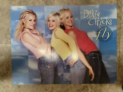 Dixie Chicks Fly Poster 1999 Sony
