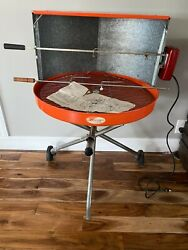 Vintage Structo 24 Hooded Bbq Grill Never Used Assembled Model Rc-13/r-713