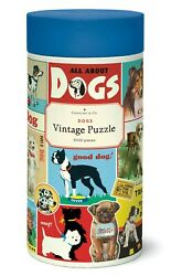 Cavallini And Co. Dogs Puzzle 1000 Pieces