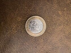 Collectable Two Pound Coin You First World War 1914 -1918