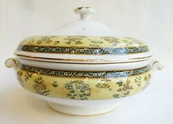 Wedgwood India Covered Vegetable Bowl -- Flawless Condition