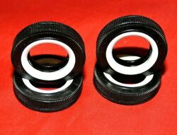 Model Car Parts Amt 50and039s Style Firestone Wide White Wall Tires 1/25