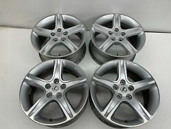 2002-2005 Oem Lexus Is300 Sportcross Wagon F And Rear Wheels 17 X 7 And 7.5 |t406