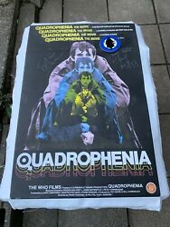 Quadrophenia Signed Autographed Canvas Banner Phil Daniels We Are The Mods