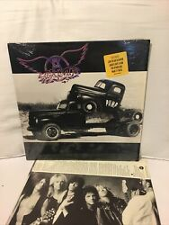 Aerosmith Pump Lp 1989 First Specialty Records Press Shrink Hype + 12x12 Poster