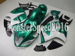 Injection Abs Mold Green White Fairing Fit For Suzuki 2008-2018 Gsx-r 1300 Aao