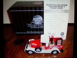 Matchbox 1930 Ford Model A Truck Texaco Collection Mib With Coa 143 Scale