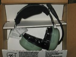 David Clark Aviation Headset Model H20-16 With Jb-08 Helicopter Adapter