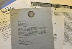 Lucie Arnaz Signed Letter Re Mother Lucille Ball To Hollywood Reporter 1991