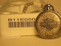 The Franklin Mint Harley Davidson Collector Pocket Watch B11 E050 C New