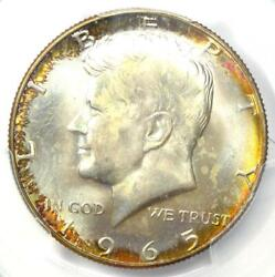 1965 Kennedy Half Dollar 50c Coin - Pcgs Ms67 - Rare In Ms67 - 2750 Value