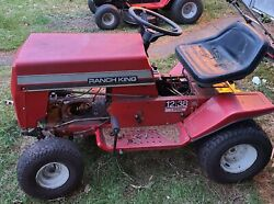 1980s Ranch King Riding Mower Hood And Grill Onlystraight Oem Mtd 12hp/38