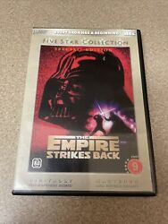 Star Wars The Empire Strikes Back Dvd Special Edition Five Star Collection Rare
