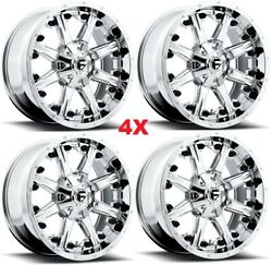 20 Chrome Fuel Wheels Rims Wrangler Gladiator Nutz Pvd