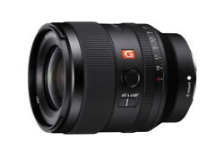 【brand New】sony Fe 35mm F1.4 Gm Sel35f14gm Lens From Japan