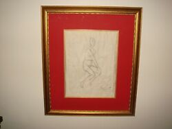 Original Rare Art Signed By Peter Keil And Miro On The Art And The Mat1959 Coa