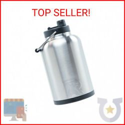 Rtic Double Wall Vacuum Insulated Stainless Steel Jug Stainless Steel One Gall