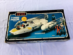 Star Wars Return Of The Jedi Y-wing Fighter 1983 Vintage Brand New Never Used