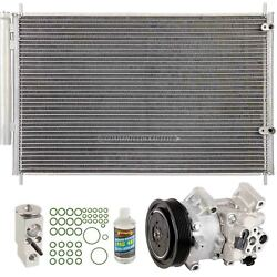 For Toyota Corolla 1.8l 2011-2013 A/c Kit W/ Ac Compressor Condenser And Drier Dac