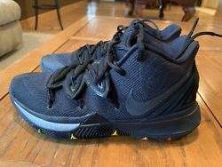 Nike Kyrie 5 Neon Sole 2019 - Mens Size 7.5 Preowned Light Wear
