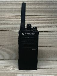 Motorola Rdx Rdu2020 Two Way Radio Battery Included With Belt Clip