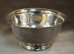 Large 9 M Fred Hirsch 40 Sterling Silver Paul Revere Bowl
