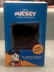 ⭐️⭐️low Serial 2 ⭐️⭐️ Chibi Coin Collection Andndash Mickey Mouse 1oz Silver Coin
