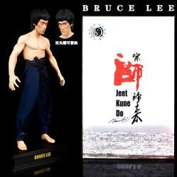 32cm Bruce Lee 77th Anniversary Collection Model Statue Jeet Kune Do New In Box