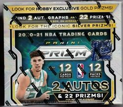 2020-21 Panini Prizm Basketball First Off The Line Fotl Factory Sealed Hobby Box