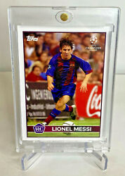 Lionel Messi Topps Lost Rookie Fc Barcelona Soccer Card Argentina Psa Bgs Invest
