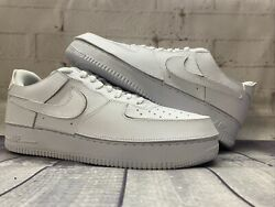 Nike Air Force 1 Af1/1 White Removable Parts Shoes Cv1758-100 Menandrsquos Size 11 New