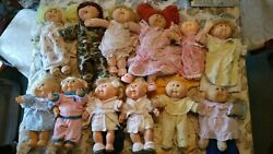 Vintage Cabbage Patch Kids Doll Lot Of 12