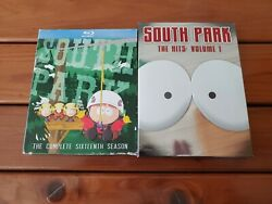 South Park Lot Of 2 Box Sets 16th Season On Blu-ray And The Hits Volume 1 On Dvd